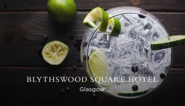 Blythswood square hotel gin festival