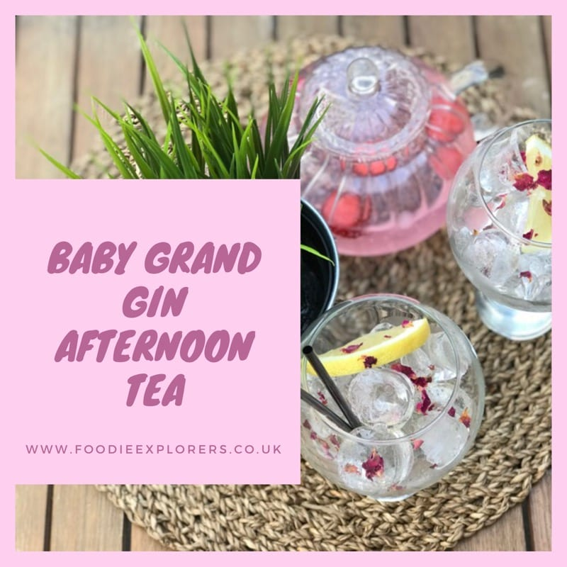 Food Review: Boë Gin afternoon tea at Baby Grand