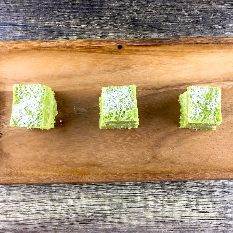 Recipe: Raw Matcha Coconut Fudge