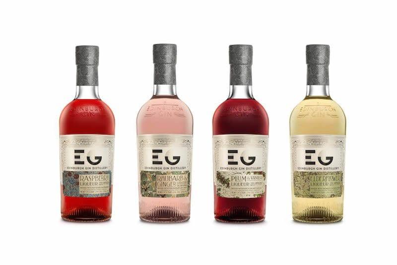 edinburgh gin new bottle design