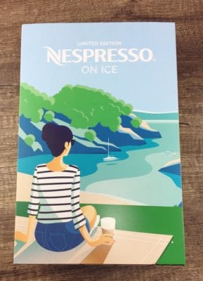 Nespresso on ice limited edition capsules