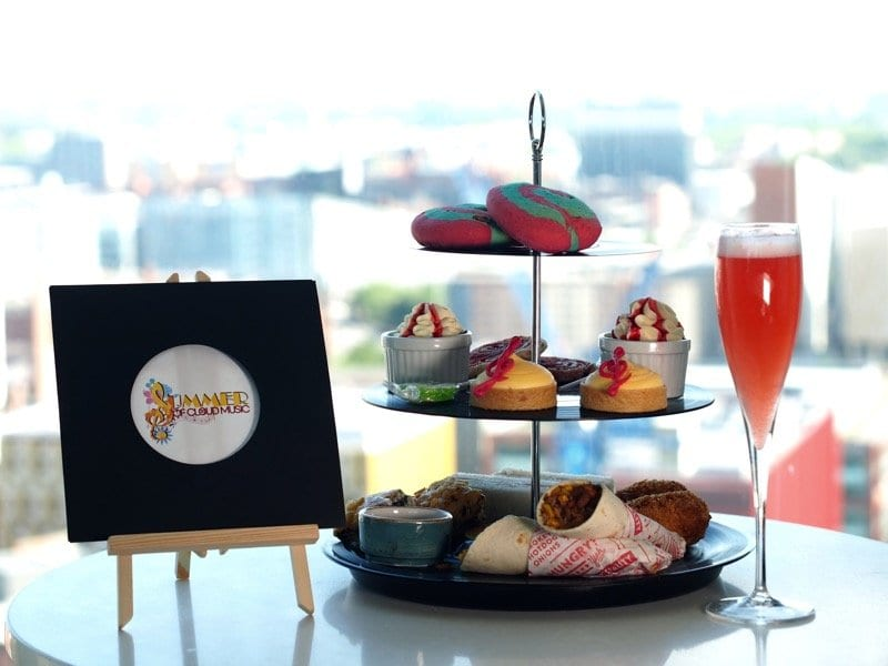 Summer of Music Afternoon Tea at Hilton Manchester