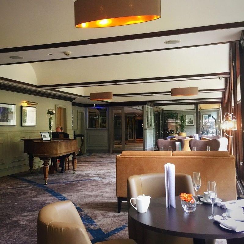 Hilton Grosvenor glasgow west end afternoon Tea the terrace