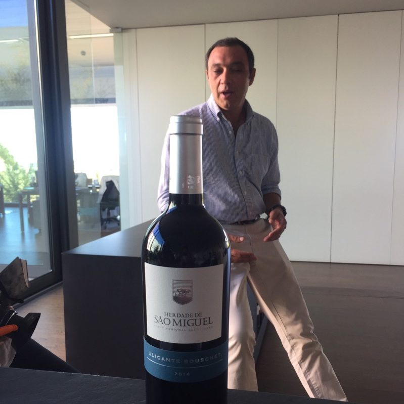 Alentejo Portugal Sao Miguel winery