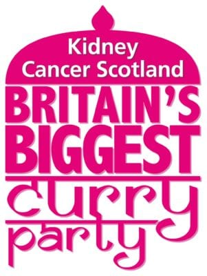 Crossing the rubicon kidney cancer scotland event biggest curry uk