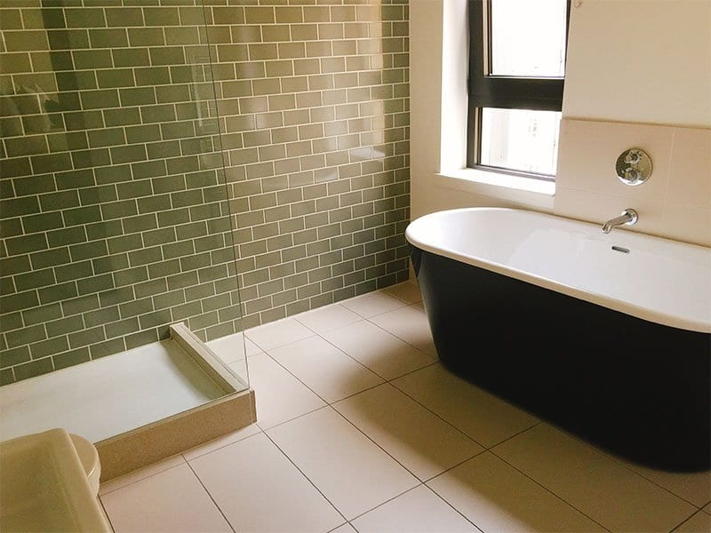 Old Town Chambers - example bathroom