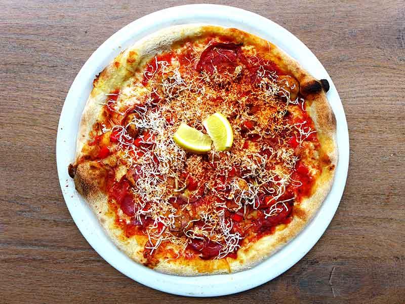 Vapiano Meat Pizza