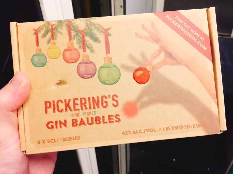 Pickering's Gin Baubles are back!