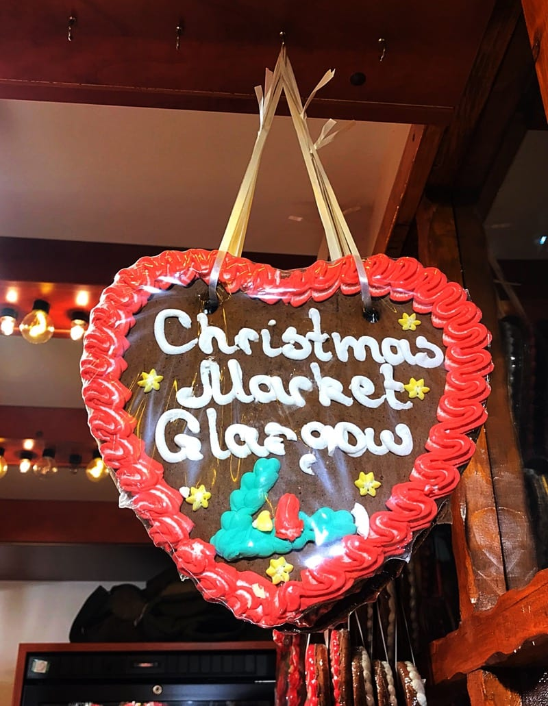 Visiting Glasgow's Christmas Markets in 2017