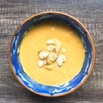 Pumpkin ginger apple soup recipe