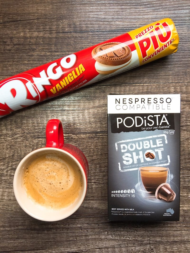 Podista Double Shot coffee