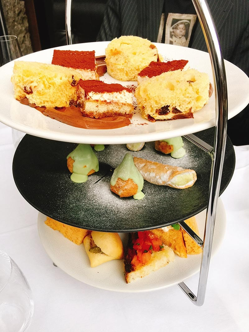 Divino Enoteca Italian afternoon tea - afternoon tea