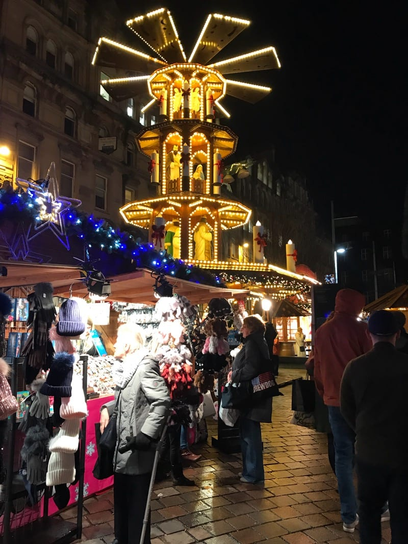 christmas market glasgow