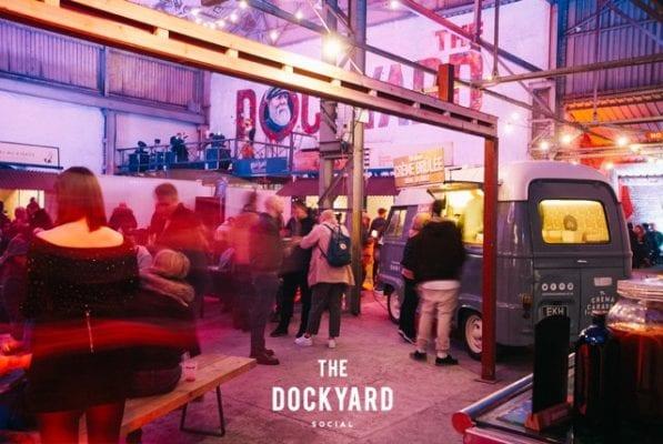 The Dockyard social glasgow pop up section 33