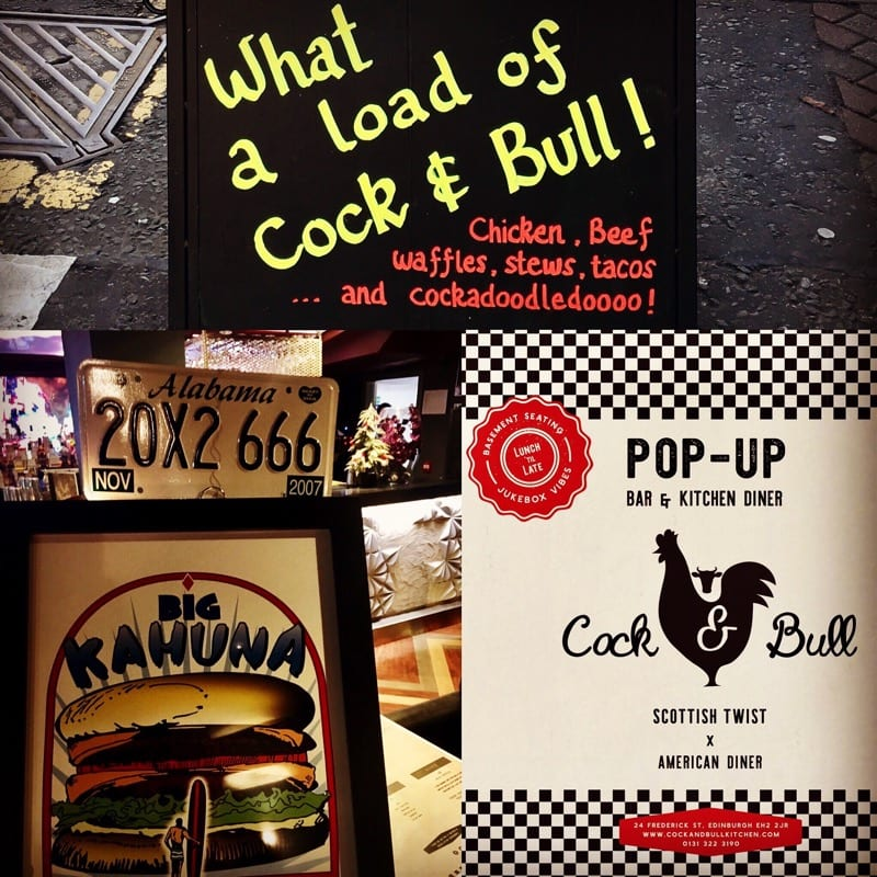 Pop up Cock and Bull Kitchen opens in Edinburgh