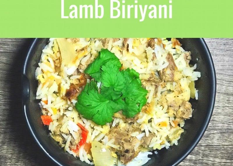 Lamb biriyani recipe