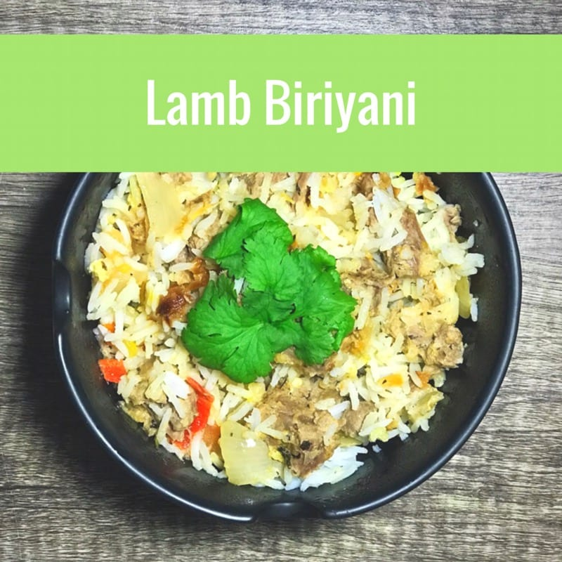 Recipe: lamb biriyani (Christmas leftovers)