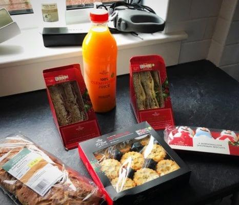 Christmas sandwich Morrison's