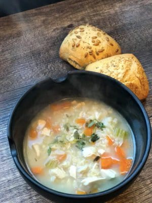 easy chicken and rice soup