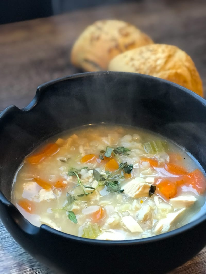 Recipe: Easy Chicken and Rice Soup