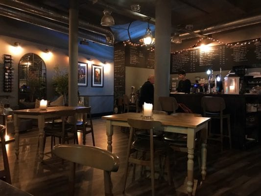 Villiers and co Glasgow food blog inside review