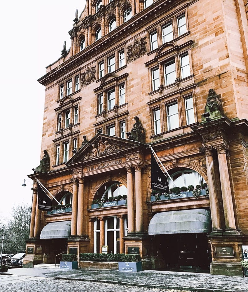The Pompadour by Galvin Waldorf Astoria the caledonian