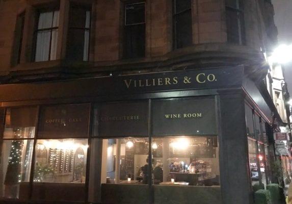 Villiers & Co Glasgow food blog Woodlands Road