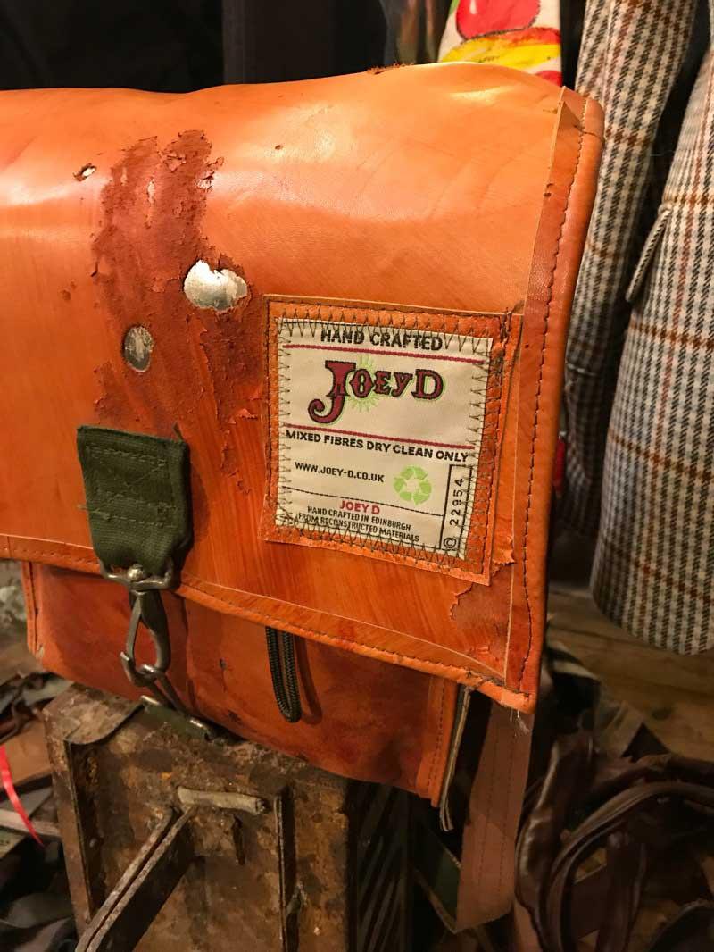 Edinburgh Food Safari - Joey D bags