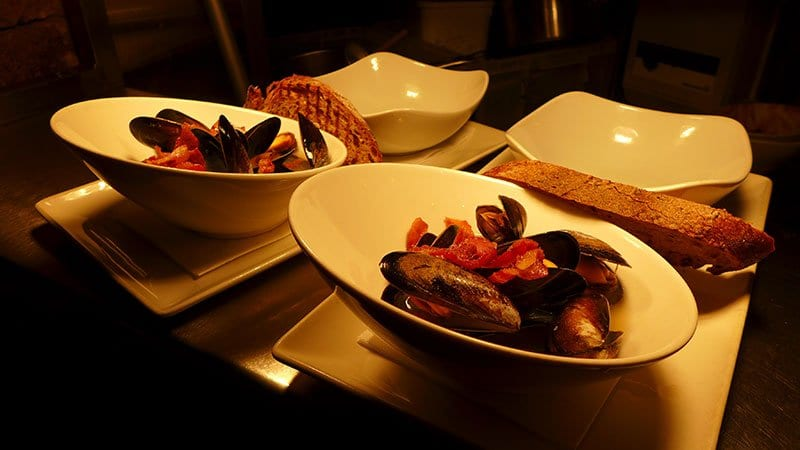Edinburgh Food Safari - The Other Place mussels