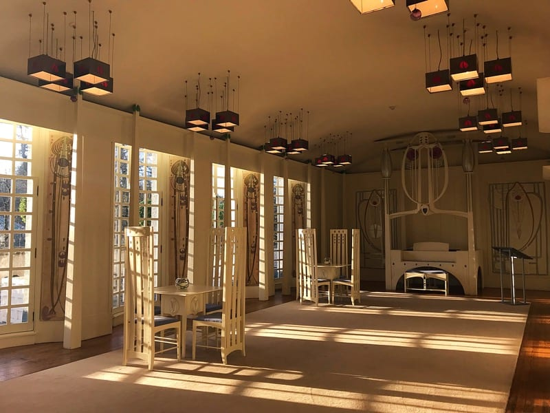 Mackintosh house for an Art Lover bellahouston Park glasgow