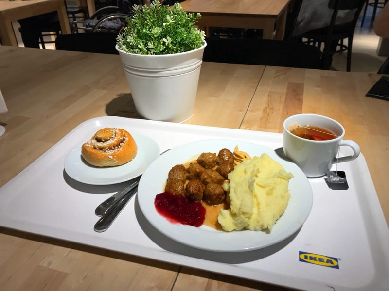 Food Review: IKEA Restaurant, Braehead, Glasgow