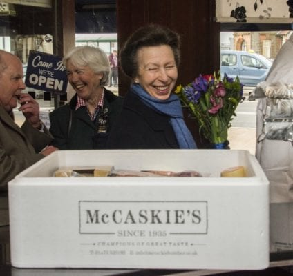 McCaskies WEMYSS Bay princess Anne