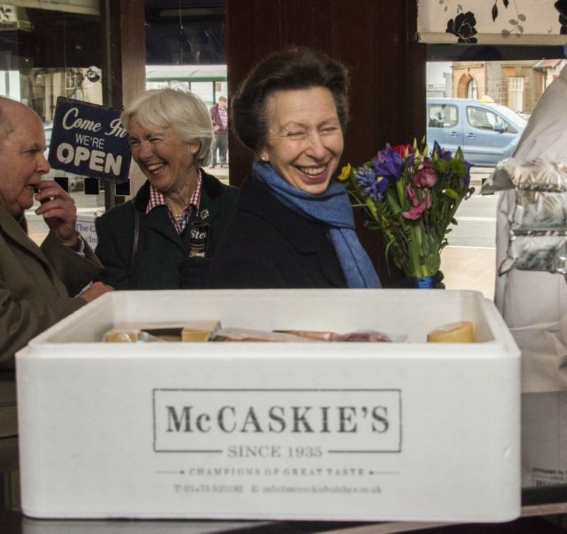 McCaskie's of Wemyss Bay get a Royal visit