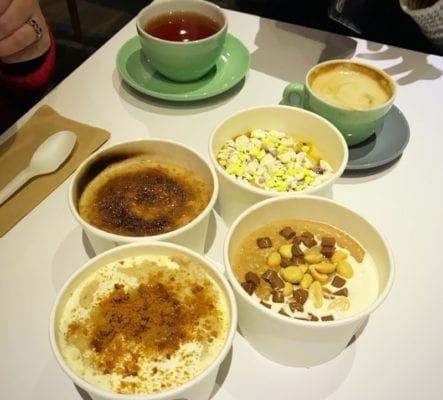 It all Started Here Wild gig catering pop up Glasgow porridge Glasgow foodie explorers
