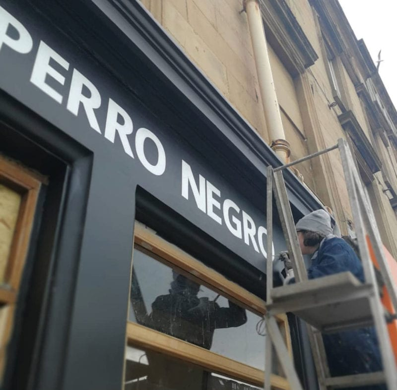 News: El Perro Negro is coming soon to Finnieston!