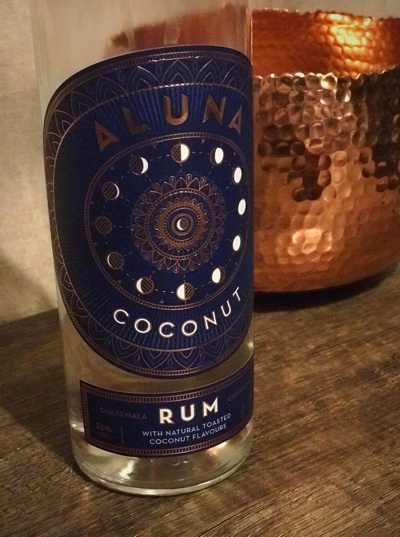 Aluna coconut macchiato rum winter warmer coffee recipe