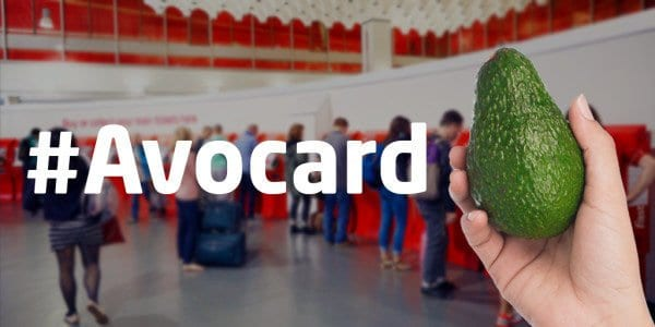 Virgin trains Millenial railcard avocard Avocado