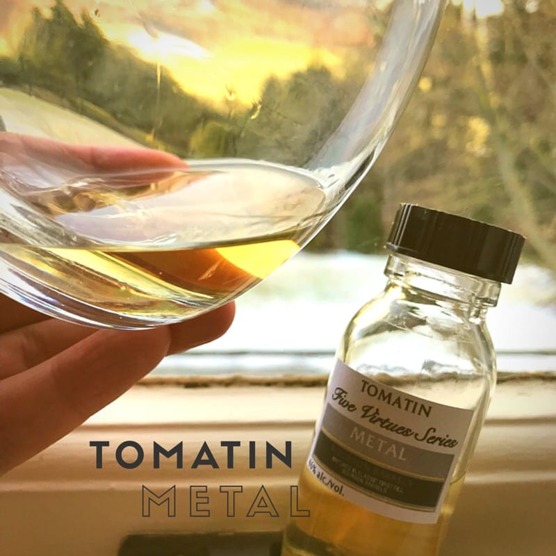Tomatin 5 virtues metal whisky