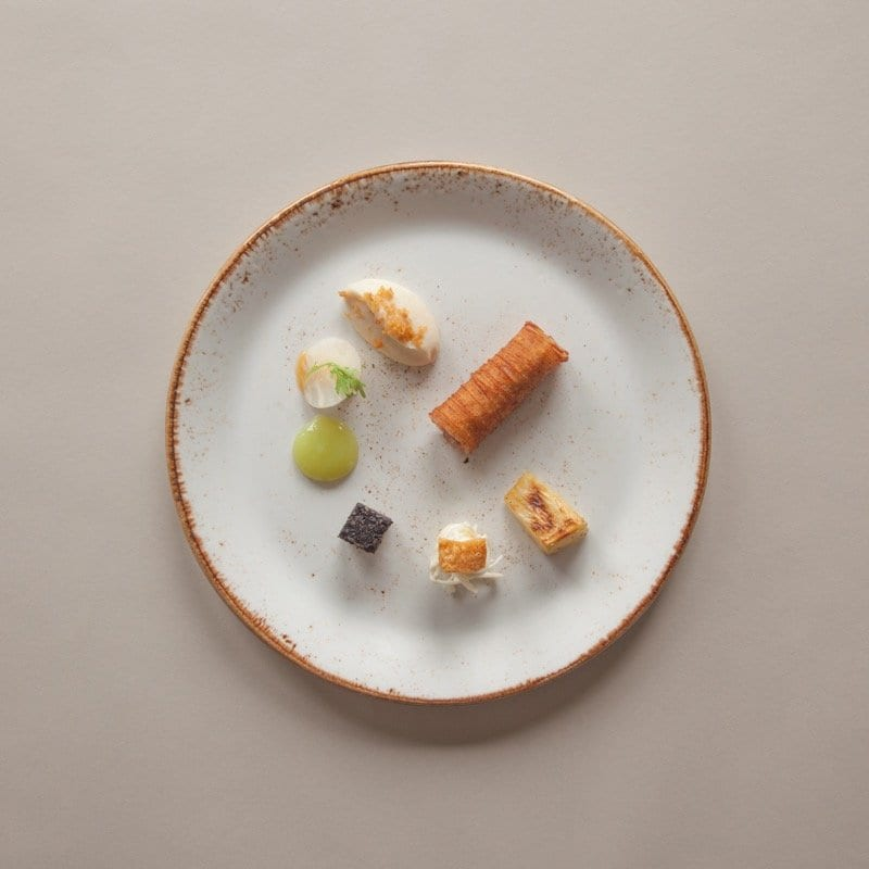 First menu for Six by Nico Edinburgh