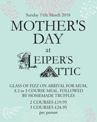 Leiper's Attic - Mother's Day