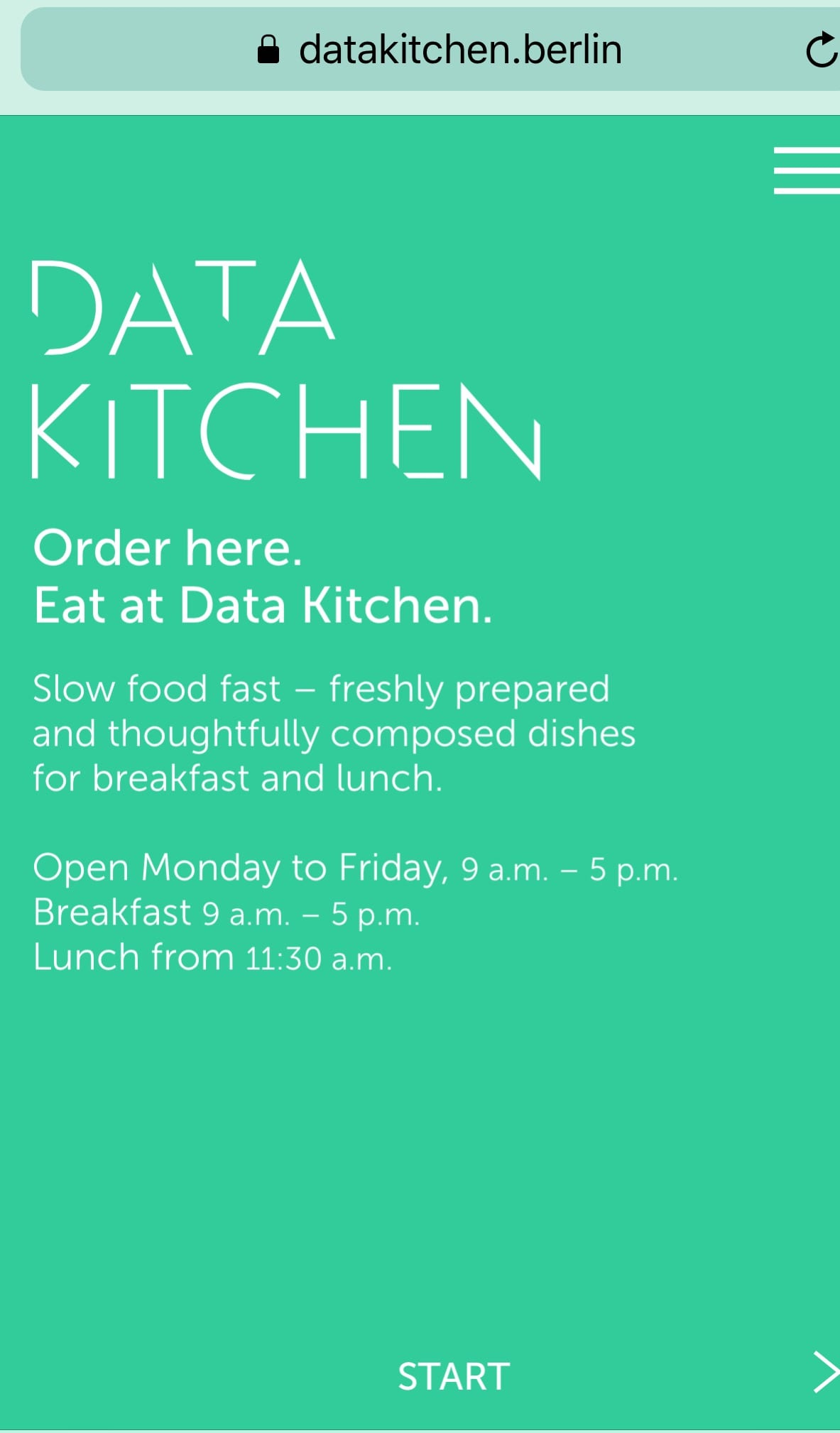 Data Kitchen Berlin foodie explorers
