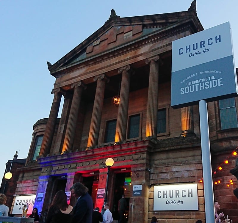 Church on the hill glasgow Southside food drink glasgow foodie explorers