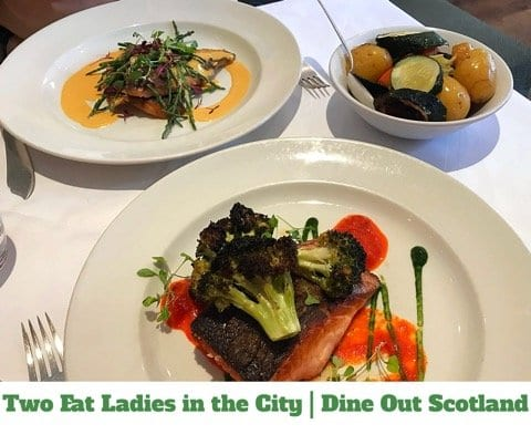 Food: Dine Out Scotland at Two Fat Ladies with 5pm