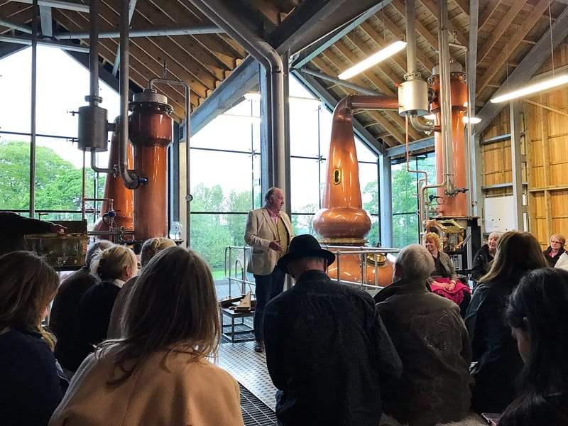 Feast of fife Lindores Abbey distillery