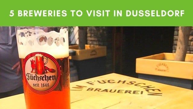 Düsseldorf brewery trail beer crawl of Düsseldorf