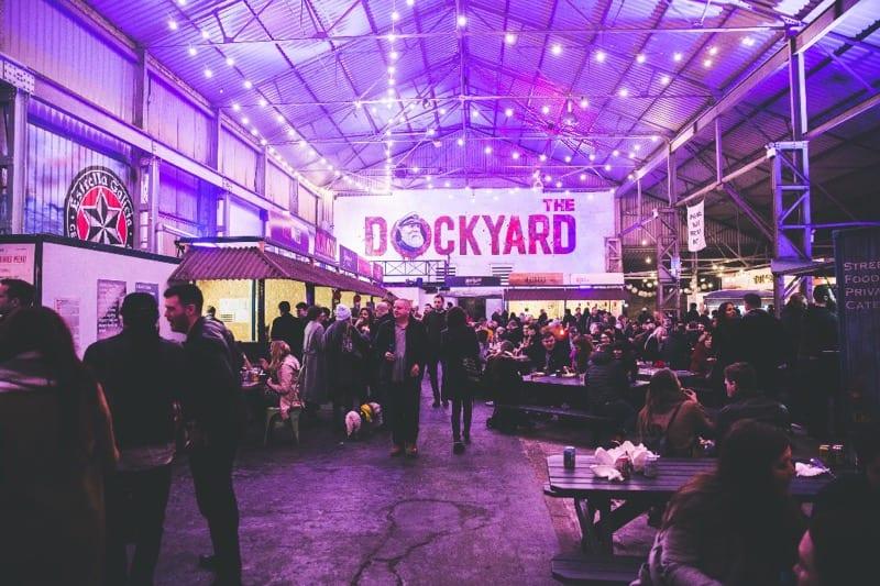 Dockyard social Glasgow