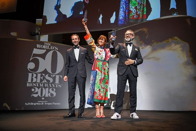 Osteria Francescana voted best restaurant in the world!