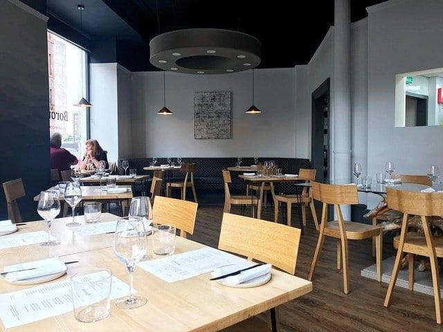 Borough Restaurant Leith Foodie - Interior