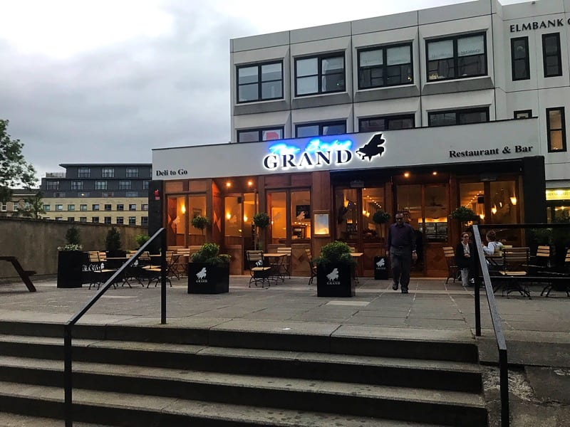 Food review: The Baby Grand Restaurant, Glasgow