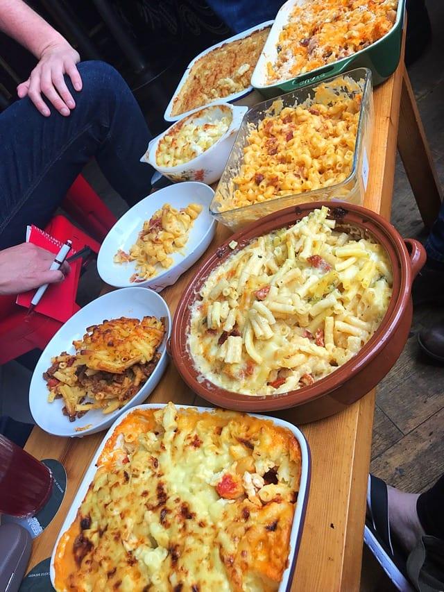 Dreadnought Leith mac n cheese judging